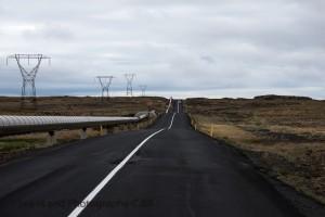 Straße auf Island