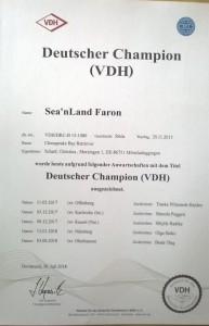 Sea'nLand Faron - dt. Ch VDH
